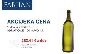 Fabijan - steklenica za vino